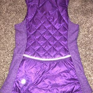 lululemon athletica Jackets & Coats - Lululemon down for a run vest size 4